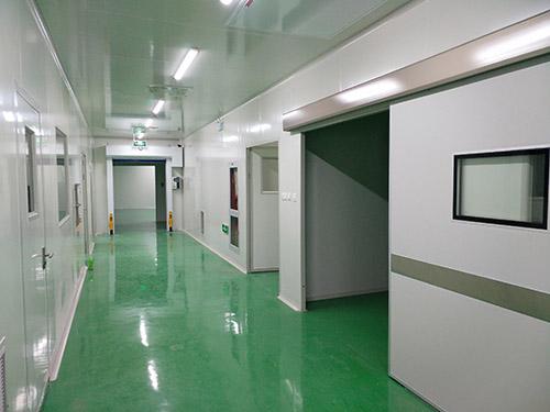 合肥市医药厂生物医疗净化系统装修工程